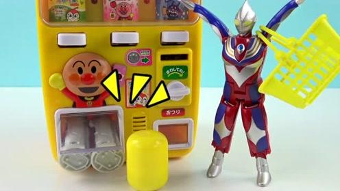 《橙子乐园在日本》迪迦奥特曼手气太好了,居然买中了奥特之王胶囊