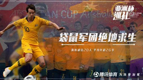 """亚洲杯巡礼:澳大利亚 小将领衔""""袋鼠军团""""绝地求生渴望卫冕"""
