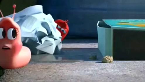 爆笑虫子:小粉拿了黄虫的东西送给小黄,小黄真心碎!