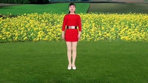 广场舞阿宝 、张冬玲情歌对唱《花开的时候》,好学好看又好听!