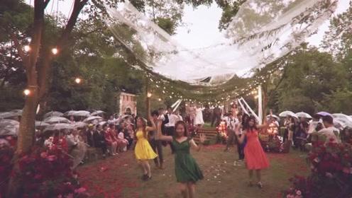 结婚这么多人高歌热舞,办成了演唱会现场