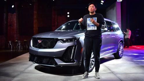 美国抢先体验凯迪拉克XT6 车长超5米/3.6L V6动力