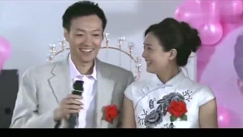 男子携前妻给自己的女徒弟证婚,无比的紧张,逗得大家哈哈大笑