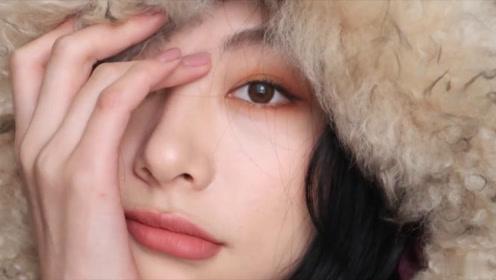 黄棕色眼妆分享 眼妆处理的好干净呀