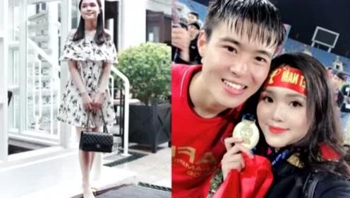 越南球员经常送富二代女友奢侈礼物,网友:这样的恋爱太辛苦