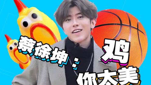 蔡徐坤 一个NBA天才型选手的崛起