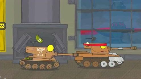 坦克世界搞笑动画:我只想安静的钓鱼,这是什么鬼
