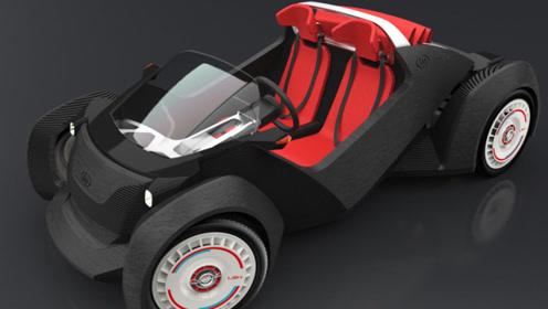 3D打印汽车将在我国量产,3天造一辆汽车,一辆车售价6万元