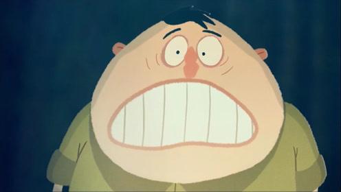 动画短片:胖子为了一己私利,最后落的个人财两空