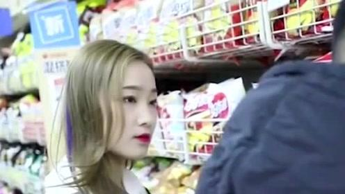 超市里的正能量,小姐姐太机智了,小偷万万没想到自己会这样暴露
