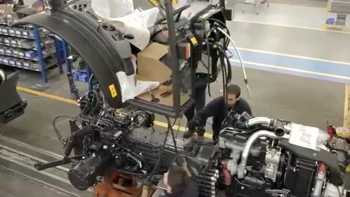 科技探索:拖拉机生产,原来是这样的啊!