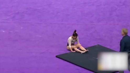 隔着屏幕都觉得疼!美国一运动员比赛中不慎摔断双腿
