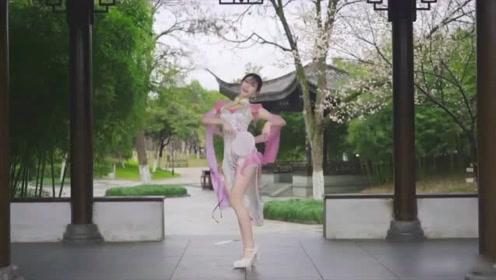全网最有韵味的旗袍女神,完美诠释《古风舞》百看不厌!
