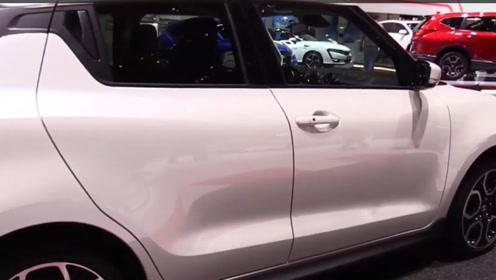 铃木全新小型车亮相!1.4T动力+轻量化车身,还选什么飞度!