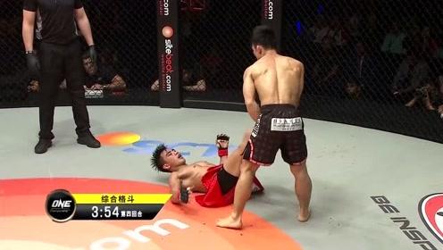 ONE冠军赛 帕西奥破解猿田洋祐攻势,立刻站起身子