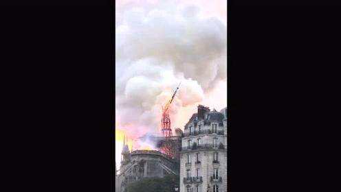 在法留学生 亲历圣母院大火