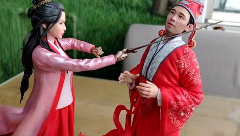 """小伙从钳工转行做软陶收获爱情,做""""小燕子""""送赵薇"""