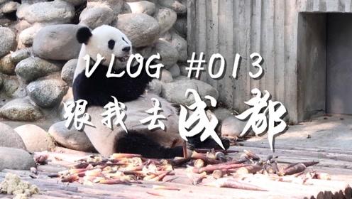 VLOG013去成都享受向往的生活,喝茶看戏吃小吃好悠哉!