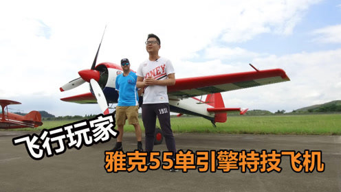 """详解:全球特技飞行大赛惊艳全场的""""冠军机""""雅克55"""