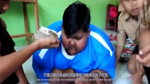 世界最胖男孩,体重380斤减掉一半,如今成男神?