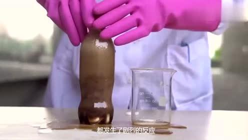 把沸腾片放入食用油中,发生的现象很神奇,这是什么原理