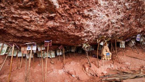 中国这座著名的山脚下堆积钱财,却没有一个人敢拿,有什么含义?