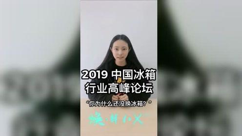 """中国冰箱行业高峰论坛——街头采访""""你为什么还不换冰箱?""""之一"""
