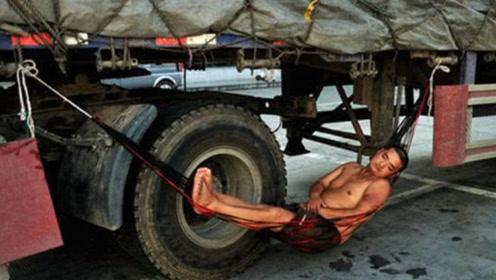 为什么大货车司机宁愿在高速路边休息,也不进服务区休息?很简单