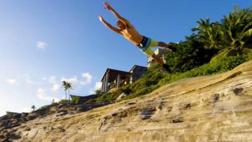热爱跑酷的人 往往会比普通人多出20倍的几率脱险