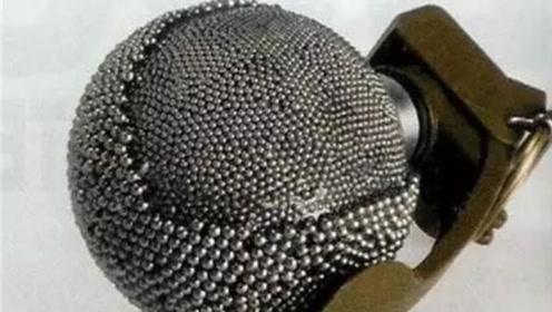 解密世界最丧心病狂的手榴弹!外形就让人害怕!但竟是塑料做的?