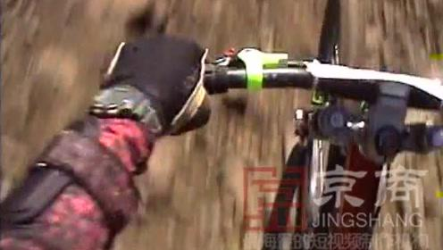 在滑雪胜地的夏季缓慢的骑车别有一番风味啊!