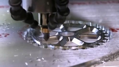 高精度机械加工中心,网友:加工过程就是一场艺术盛宴!