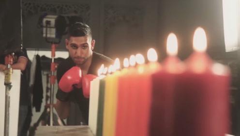 国外小哥一拳熄灭12根蜡烛,这拳头真是有力!网友:神了!
