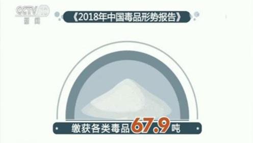 去年缴毒67.9吨 吸毒人数首次出现下降