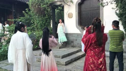 老门东惊现七仙女,一个比一个美