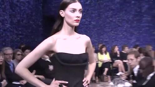 当Dior变得理智,这份优雅有点前卫Dior女装秀场广告混剪