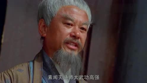 不愧是一代宗师,灭绝师太武功高强图片
