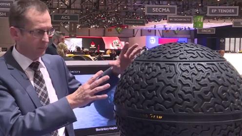 未来汽车轮胎,或许不再是圆柱形,而是球形!