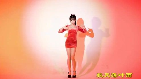 小师妹红色性感红裙来袭,热舞妖娆动人