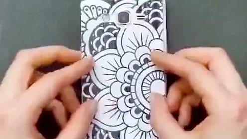 这样的手机壳你喜欢吗?自己做一个吧