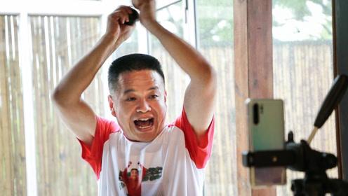 土味大爷自创中国式RAP爆红:嘴角向上,满满正能量