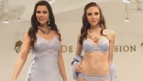 欧美时尚内衣秀,男网友看完表示,要给女友买一套