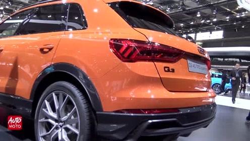 车展实拍全新奥迪Q3,你喜欢这台车吗?
