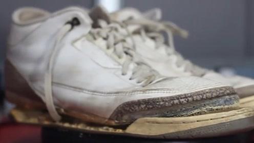 30年前的耐克鞋,看牛人如何神奇般的修复一新,我彻底服了
