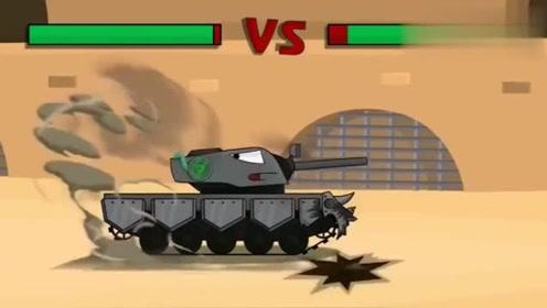 坦克世界动画:kv44竟然当起了裁判图片