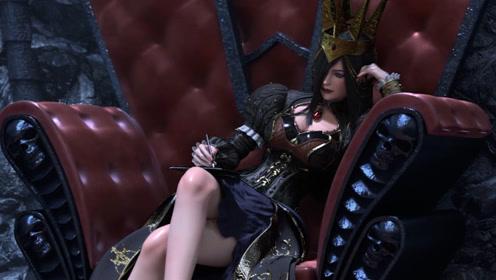 《雄兵连》莫甘娜女王,你让我万劫不复,却让我甘愿沦为信徒