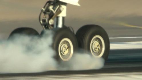 飞机轮胎那么小,怎么承受得住上百吨重的飞机的?