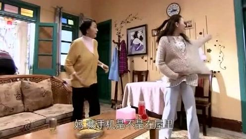 婆婆嫌弃小曼怀女孩,不料一乐的行为神助攻,小曼大出血_!