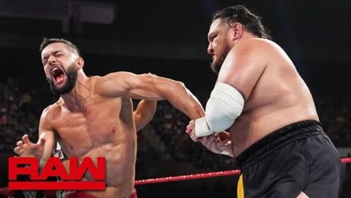 RAW1364期: NXT宿敌擂台再见 芬终结飞踏击败乔