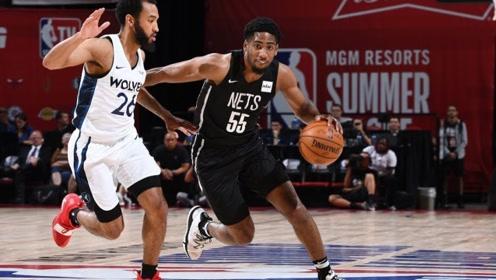 NBA夏季联赛:篮网队精彩混剪,布雷马哈盖帽让对手怀疑人生!